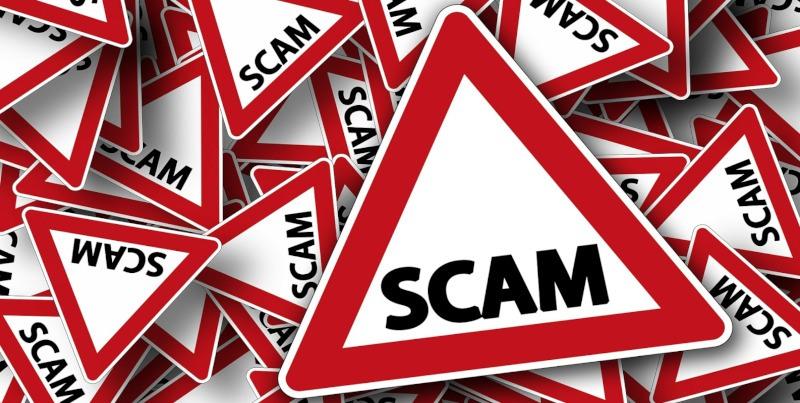 Znaki drogowe scam