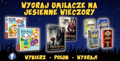 Konkurs Umilacze jesiennych wieczorów baner artykułu mini